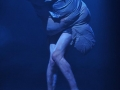"""""""Freakshow"""" - The Best In Town. Performance von Sabine Köhler und Heiki Ikkola im Projekttheater Dresden. Foto: André Wirsig"""
