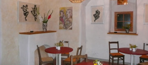 Galerieraum vom Ladencafe