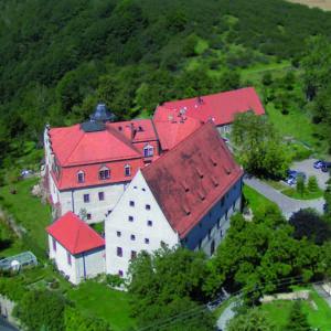 Schloss Batzdorf Luftbild